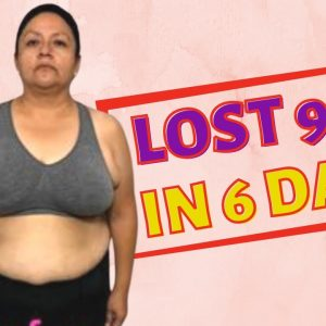 She Lost 9 lbs in  6 Days (Keto &  Intermittent Fasting Weight Loss Journey Results)