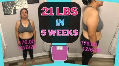 Lost 21 lbs in 5 Weeks (Keto & Intermittent Fasting Weight Loss Journey Results)