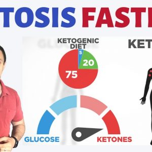 #1  WAY to get in Ketosis FAST Without Exogenous Ketones