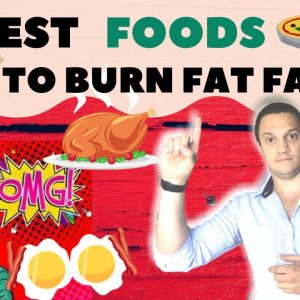 10 Foods That'll Help You Lose Belly Fat (Burn Fat With NUTRITION)