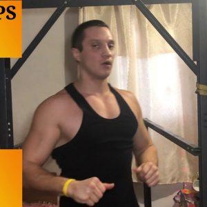 55 Pull   Ups + 70 Dips In 10 Minutes (Denis Semenikhin Challenge)