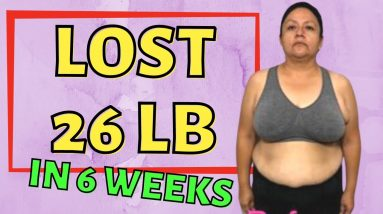 Lost 26 lbs in 6 Weeks (Keto & Intermittent Fasting Weight Loss Journey Results)
