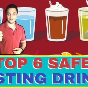 🍹What DRINKS Are SAFE On Intermittent Fasting (TOP 6 Fasting Drinks!)