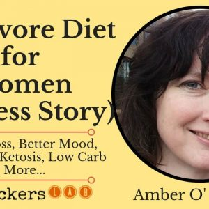 Amber O' Hearn: The Carnivore Diet for Women Success Story