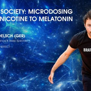 Interview: Fabian Foelsch (GER) on Brain Society: Microdosing from Nicotine to Melatonin