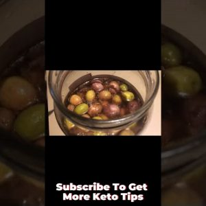 Clean Keto Snacks - Olives