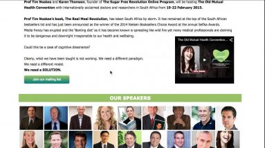Old Mutual Health Convention Cape Town 2015 | Low Carb High Fat Convention