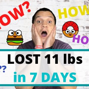 My 2020 Weight Loss Journey Part 1 (What Did I Eat To Lose 11 Lbs Of FAT in 7 Days)