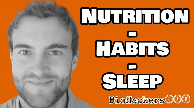 Greg Potter PhD - How Nutrition & Our Habits Can Affect Sleep