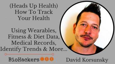 Heads Up Health Review (Health Tracking Software) • David Korsunsky