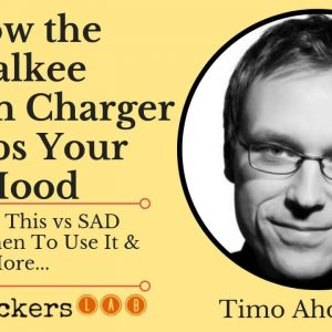 How The Valkee Human Charger Works (Review & Tips) • Timo Ahopelto
