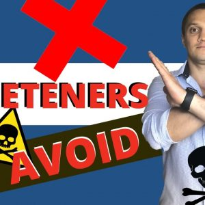 Top 15 Artificial Sweeteners YOU SHOULD AVOID Completely (Hidden Danger That's Killing)