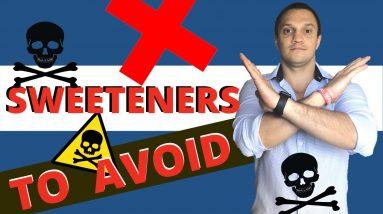 Top 15 Artificial Sweeteners YOU SHOULD AVOID Completely (Hidden Danger That's Killing)