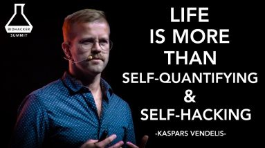Kaspars Vendelis: Beyond Self quantifying & Self hacking