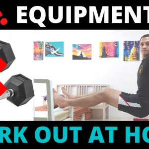 FOLLOW ALONG IDEAL HOME BODYWEIGHT WORKOUT (Full Body No equipment needed!)