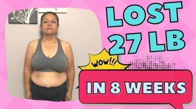 Lost 27 lbs in 8 Weeks (Keto & Intermittent Fasting Carb Cravings Results)
