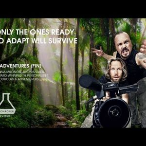 Only the ones ready to adapt will survive - Biohacker's Podcast Live with Madventures