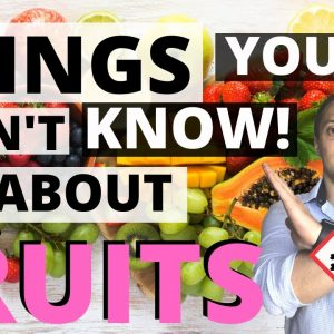 🥝STOP Eating FRUITS If Your Goal Is to LOSE WEIGHT (Things YOU Don't know!)