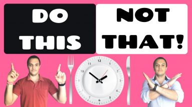 The COMPLETE Guide to Intermittent Fasting (How To Do IT THE RIGHT WAY!)