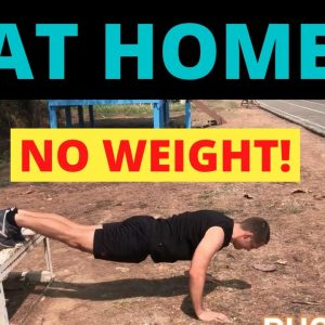 The PERFECT HIIT Home Workout (Sets and Reps Included)