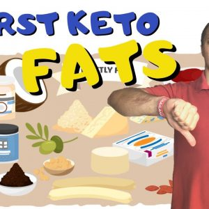 Top 3 FATTY FOODS To Avoid On Keto (Worst Dirty Keto Fats)