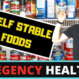 Top 5 FOODS That YOU SHOULD STOCK UP ON NOW (HEALTHIEST Shelf Stable Foods You NEED to Buy!)