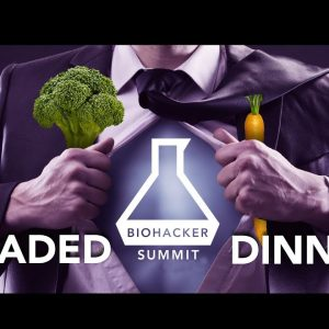 Upgraded Dinner at Biohacker Summit Stockholm 2017