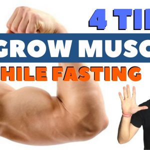 💲How To BUILD MUSCLES With Intermittent Fasting (Science-Based Muscle Growth Meal Plan)