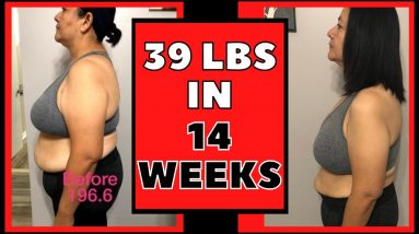 Lost 39 lbs in 14 Weeks (Keto & Intermittent Fasting Weight Loss Journey Results)