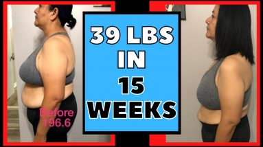 Lost 39 lbs in 15 Weeks (Keto & Intermittent Fasting Weight Loss Journey Results)