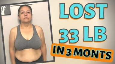 Lost 33 lbs in 3 Months (Keto & Intermittent Fasting Weight Loss Plateau)
