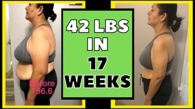 Lost 42 lbs in 17 Weeks (Keto & Intermittent Fasting Weight Loss Journey Results)