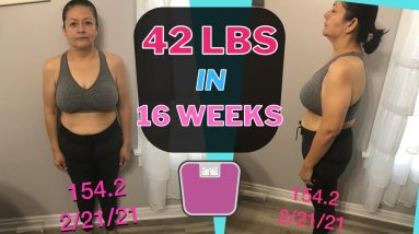 Lost 42 lbs in 4 Months (Keto & Intermittent Fasting Weight Loss Journey Results)