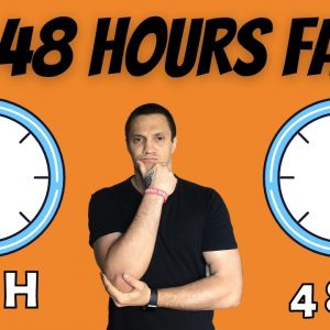 How Often Should I Do Prolong Fasting ( 24, 48 Hours Fast)