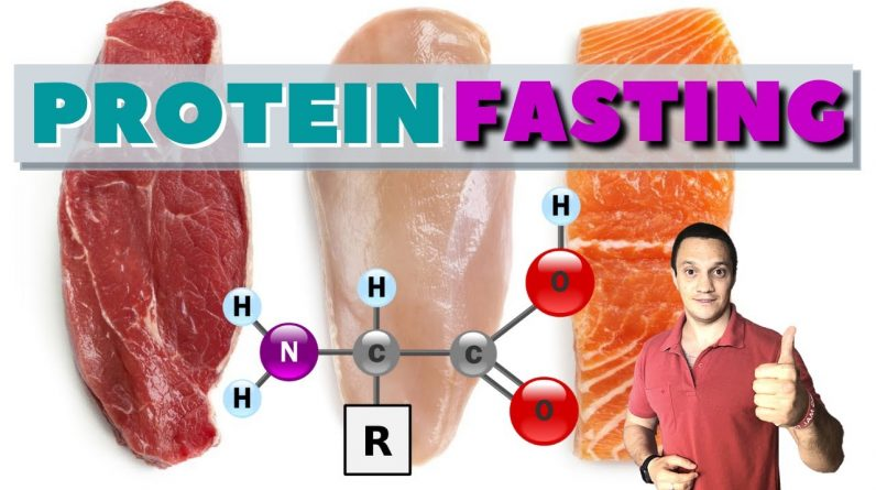 Protein Fast and How to Do it THE Right Way For Longevity, Weight Loss, and AUTOPHAGY Benefits