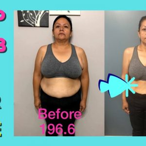 57 lb Down with Keto & Intermittent Fasting (Body Transformation Weight Loss Journey Results)