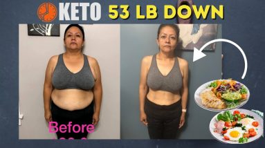 53 lb Down Keto, Intermittent & Prolonged Fasting (Body Transformation Weight Loss Journey Results)