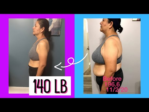 From 196 lb to 140 lb with Keto & Fasting (Body Transformation Weight Loss Journey)